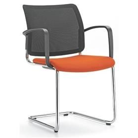 Girsberger Yanos Mesh Back Cantilever Meeting Chair