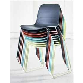 Lammhults Grade Stacking Chair Stacked