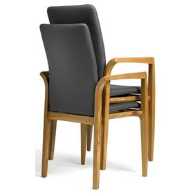 Hands Edera Wooden Stacking Conference Chair
