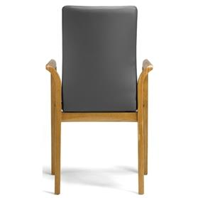Hands Edera Wooden Conference Chair Rear