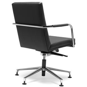 Hands Precept Swivel Conference Chair Rear