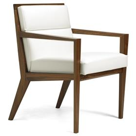 Hands Verdi conference chair White Leather