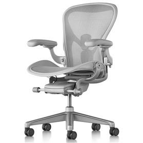 New Herman Miller Aeron Remastered, Mineral Finish Size B (Medium)