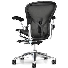 Herman Miller Aeron Remastered Polished Rear