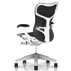 Herman Miller Mirra Airweave Graphite and White
