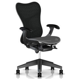 IN STOCK! Herman Miller Mirra 2 Slate Grey with Graphite Frame and Base