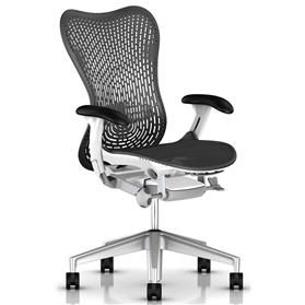 Herman Miller Mirra 2 Triflex Back, Black and White Edition