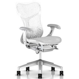 NEXT DAY DELIVERY! Herman Miller Mirra 2, Triflex ll Back, Alpine White Edition