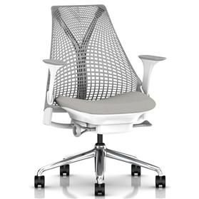 IN STOCK! Herman Miller Sayl, Aristotle, Polished Aluminium Base