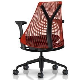 herman miller sayl red and black edition