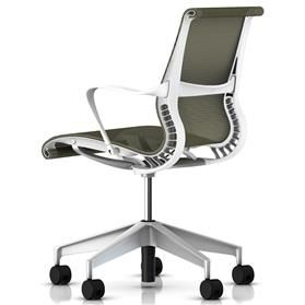 Herman Miller Setu Task Chair Rattan Back