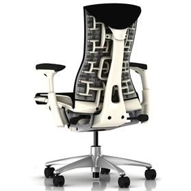 Herman Miller Embody Black and White Edition Rear
