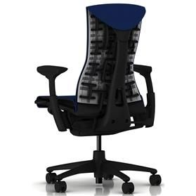 Herman Miller Embody Rhythm Berry Blue Rear