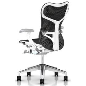 Herman Miller Mirra 2 Graphite, Semi Polished Rear