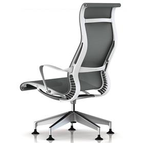 Herman Miller Setu Lunge Chair, Alpine Rear