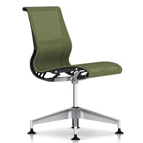 Herman Miller Setu Meeting Chair Chartreuse