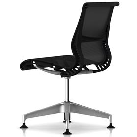Herman Miller Setu Meeting Chair no arms rear