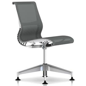 Herman Miller Setu Meeting Chair Studio White