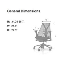 Herman Miller Sayl Suspension Back Office Chair (DESIGN YOUR OWN)