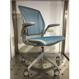 Humanscale Diffrient World Chair, Cyan