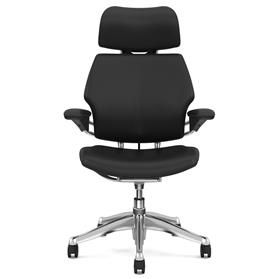Humanscale Freedom Bizon leather chair front