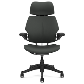 Humanscale Freedom Chair with Headrest Oxygen Revive Fabric Front