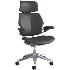 Humanscale Freedom Chair with Headrest - Leather (Design Your Own)
