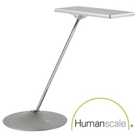 NEXT DAY DELIVERY! Humanscale Horizon LED Desk Light, Silver