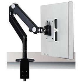 NEXT DAY DELIVERY! Humanscale M2 Monitor Arm, Black/Black with Clamp