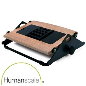 NEXT DAY DELIVERY! Humanscale Foot Machine FR300B with Massage Balls, Natural