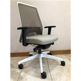 NEXT DAY DELIVERY! Interstuhl Everyis1 152E Synchronous Mesh Office Chair, Grey Beige Edition