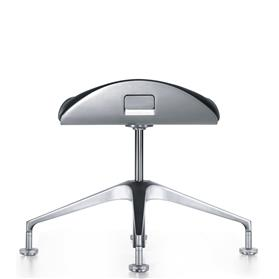 Interstuhl Silver Conference Stool 100S