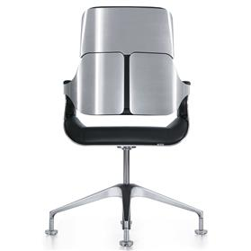 Interstuhl Silver Mid Back Conference Chair Brushed