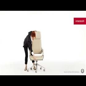 interstuhl silver executive chair
