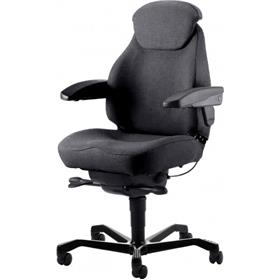 KAB Seating Navigator Heavy Duty Chair, Black