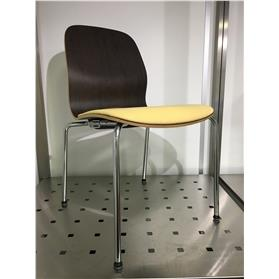 NEXT DAY DELIVERY! Koehl Desiro Four Leg Chair - Ex Showroom Sample