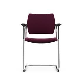 Komac Dream Upholstered Cantilever Chair
