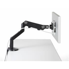 NEXT DAY DELIVERY! Humanscale M8 Adjustable Monitor Arm with Clamp, Black
