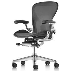 Herman Miller Aeron Remastered Polished