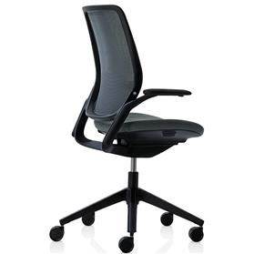 PRE ORDER! Orangebox Eva Task Chair, Black Edition