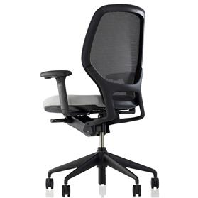 Orangebox Ara Mesh Back Office Chair Rear View