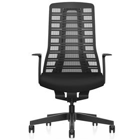 Interstuhl PURE is3 swivel chair black Front