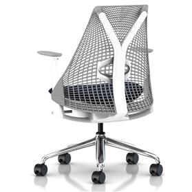 Herman MIller Sayl Vico Height Adjustable Arms Rear