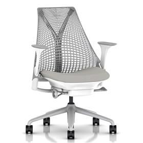 PRE ORDER! Herman Miller Sayl Office Chair, Aristotle, Fog Base