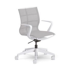 Sedus se:joy Swivel Chair, Light Grey Edition