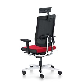 Sedus Black Dot Net Office Chair with Neck Support Back