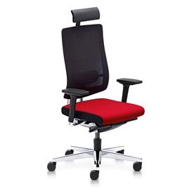Sedus Black Dot Net Office Chair with Neck Support