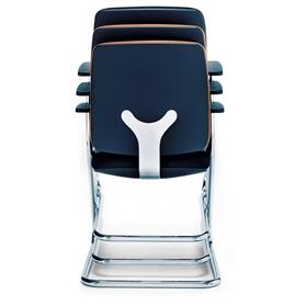 Sedus Early Bird Cantilever Visitor Chair Stacked Back