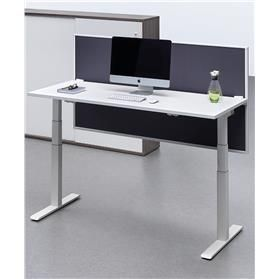 Senator Chemistry Height Adjustable Single Desk