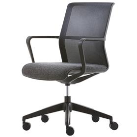 Senator Circo Mesh Back Chair with Castors 2